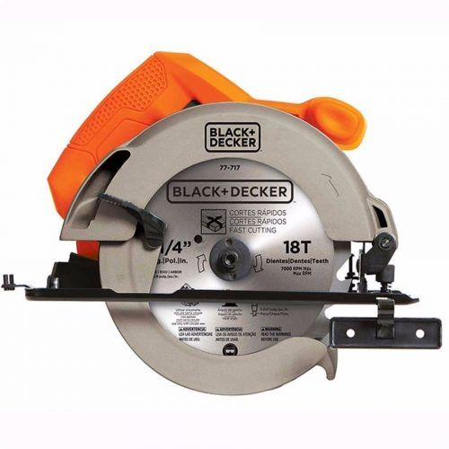 sierra circular 7 1/4 black and decker cs1004