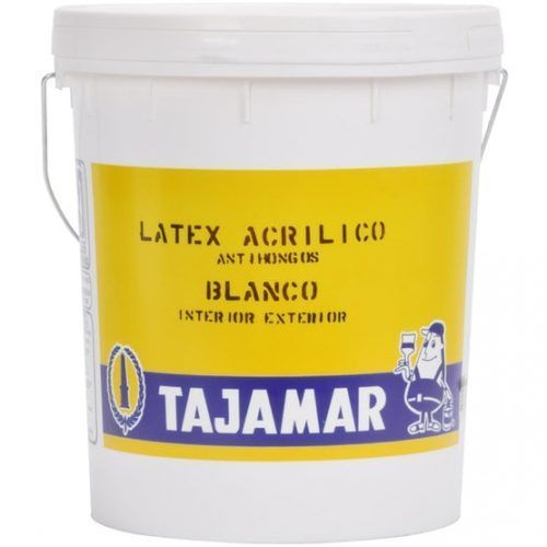 latex acrilico tajamar