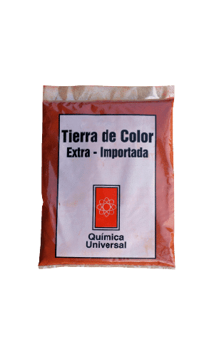 TIERRA COLOR ROJA