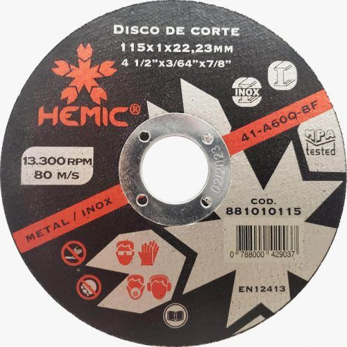 disco corte hemic