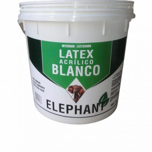 LATEX ELEPHANT BLANCO