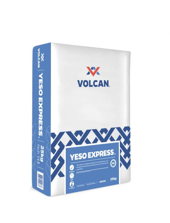 Yeso Express volcan